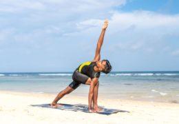Budowa mięśni u szczupłej osoby