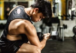 Masa mięśniowa na siłowni